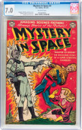 Golden Age (1938-1955):Science Fiction, Mystery in Space #4 (DC, 1951) CGC FN/VF 7.0 Off-white pages....
