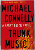 Books:Mystery & Detective Fiction, Michael Connelly. SIGNED. Trunk Music. Little, Brown, 1997.First edition, first printing. Signed by author on tit...