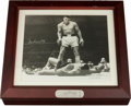 Boxing Collectibles:Autographs, 1993 Muhammad Ali Signed Fossil Watch With Display Box....