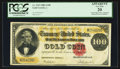 Large Size:Gold Certificates, Fr. 1213 $100 1882 Gold Certificate PCGS Apparent Very Fine 20.....