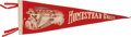 Baseball Collectibles:Others, Circa 1930's Homestead Greys Negro Leagues Pennant. ...