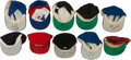 Baseball Collectibles:Hats, Collection of 10 Game Worn Baseball Caps. ...