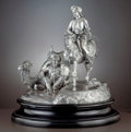 Silver Holloware, British:Holloware, A MONUMENTAL GARRARD VICTORIAN SILVER FIGURAL CENTERPIECE. R&SGarrard, London, England, circa 1851-1852 . Designed by Edmun...