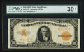 Large Size:Gold Certificates, Fr. 1173* $10 1922 Gold Certificate PMG Very Fine 30 EPQ.. ...