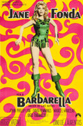"Movie Posters:Science Fiction, Barbarella (Paramount, 1968). Argentinean Poster (28.5"" X 43.5"")....."