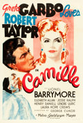 "Movie Posters:Drama, Camille (MGM, 1937). One Sheet (27"" X 41"") Style D.. ..."