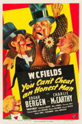 "Movie Posters:Comedy, You Can't Cheat an Honest Man (Universal, 1939). One Sheet (27"" X41"") Style A.. ..."