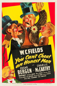 "You Can't Cheat an Honest Man (Universal, 1939). One Sheet (27"" X 41"") Style A"