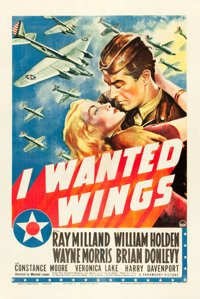 "I Wanted Wings (Paramount, 1941). One Sheet (27"" X 41"") Style A"