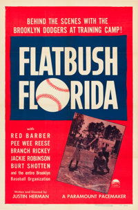 "Flatbush Florida (Paramount, 1950). One Sheet (27"" X 41"")"