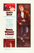 "Movie Posters:Drama, Rebel without a Cause (Warner Brothers, 1955). One Sheet (27"" X41"").. ..."