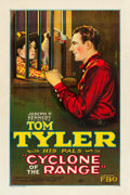 "Movie Posters:Western, Cyclone of the Range (FBO, 1927). One Sheet (27"" X 41"") Style A....."