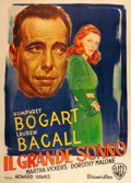 "Movie Posters:Film Noir, The Big Sleep (Warner Brothers, 1946). Italian 4 - Foglio (55"" X 77"").. ..."