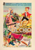 "Movie Posters:Adventure, The Adventures of Pinocchio (Minerva, 1947). Italian 2 - Foglio(39"" X 55"").. ..."