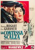 "Movie Posters:Drama, The Barefoot Contessa (Dear Film, 1955). Italian 4 - Foglio (54"" X 76.5"").. ..."
