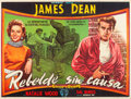 """Movie Posters:Drama, Rebel without a Cause (Warner Brothers, 1955). Argentinean Poster (57"""" X 43"""").. ..."""