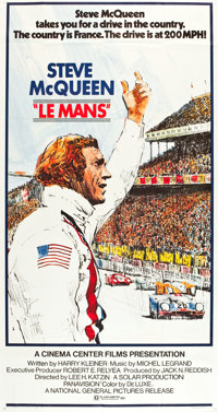 "Le Mans (National General, 1971). Three Sheet (41"" X 78.5"")"