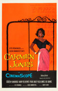 "Movie Posters:Black Films, Carmen Jones (20th Century Fox, 1954). One Sheet (27"" X 41"").. ..."