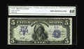 Large Size:Silver Certificates, Fr. 276 $5 1899 Silver Certificate CGA Gem Uncirculated 68. Thistwo-digit serial number Chief with original paper surfaces ...