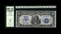 Large Size:Silver Certificates, Fr. 276 $5 1899 Silver Certificate PCGS Very Choice New 64. With alittle over 40 serial numbers currently in the census, th...