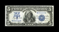Large Size:Silver Certificates, Fr. 280 $5 1899 Mule Silver Certificate Very Choice New. Thisperfectly original near-gem Chief has both its visual appeal a...