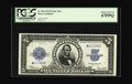 Large Size:Silver Certificates, Fr. 282 $5 1923 Silver Certificate Star Note PCGS Superb Gem New67PPQ. The numismatic community is privileged to have a sma...