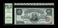 Large Size:Silver Certificates, Fr. 301 $10 1891 Silver Certificate PCGS Gem New 65PPQ. Thisbroadly margined and wholly original note was first offered pub...