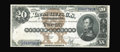 Large Size:Silver Certificates, Fr. 311 $20 1880 Silver Certificate Extremely Fine-About New. Thisnote was sold by us once before back in May of 2000 where...