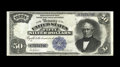 Large Size:Silver Certificates, Fr. 335 $50 1891 Silver Certificate Very Fine. Along with some well executed restoration work, this note boasts solid color ...