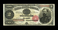 Large Size:Treasury Notes, Fr. 357 $2 1891 Treasury Note Very Fine. A most ideal and purely original mid-grade McPherson Deuce. What's more, the note i...