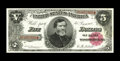 Large Size:Treasury Notes, Fr. 361 $5 1890 Treasury Note Gem Choice New. Identical to the note above and five serial numbers removed from it.. From T...