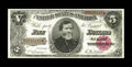 Large Size:Treasury Notes, Fr. 362 $5 1890 Treasury Note Very Choice New. The centering on this lovely Treasury Five is absolutely letter perfect, and ...