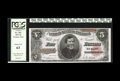 Large Size:Treasury Notes, Fr. 362 $5 1891 Treasury Note PCGS Choice New 63. This note comes from a well documented run of CU notes for this Friedberg ...