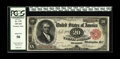 Large Size:Treasury Notes, Fr. 375 $20 1891 Treasury Note PCGS About New 50. An excellent note for the grade with embossing and faint handling that las...