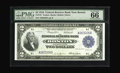 Large Size:Federal Reserve Bank Notes, Fr. 747 $2 1918 Federal Reserve Bank Note PMG Gem Uncirculated 66 EPQ. A gorgeous Boston District Battleship with bold origi...