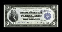 Fr. 752 $2 1918 Federal Reserve Bank Note Gem New. Embossing is easily detected on this Battleship that called the FRB o...