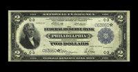 Fr. 756 $2 1918 Federal Reserve Bank Star Note Fine. An evenly circulated problem-free star note that has escaped the Mu...