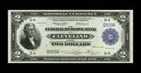 Fr. 757 $2 1918 Federal Reserve Bank Note Superb Gem New. Originality and freshness are highlights of this embossed Clev...