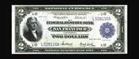Fr. 778 $2 1918 Federal Reserve Bank Note Choice About New. A faint center fold is finally detected on this Battleship t...