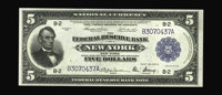 Fr. 782 $5 1918 Federal Reserve Bank Note Superb Gem New. A sharply printed note that exihibits embossing, centering, an...