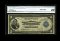 Fr. 803 $5 1918 Federal Reserve Bank Note CGA Very Fine 20. While not as scarce as the 801 and 802, only about fifty rec...