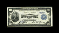Fr. 819 $10 1915 Federal Reserve Bank Note About New. A new note to the census and the second lowest serial number recor...