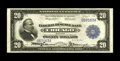Large Size:Federal Reserve Bank Notes, Fr. 824 $20 1915 Federal Reserve Bank Note Very Fine-Extremely Fine. Natural paper ripple is retained by this Chicago $20 th...