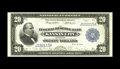 Large Size:Federal Reserve Bank Notes, Fr. 826 $20 1915 Federal Reserve Bank Note Very Fine-Extremely Fine. A perfectly original lightly circulated example of a ve...