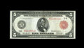 Fr. 833a $5 1914 Red Seal Federal Reserve Note Very Fine-Extremely Fine. Though Extremely Fine to About New from the sta...