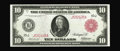 Large Size:Federal Reserve Notes, Fr. 901b $10 1914 Red Seal Federal Reserve Note Gem New. The census stood at a mere nine for this Friedberg number before th...