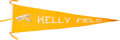 Political:Textile Display (1896-present), Huge Kelly Field Aviation Pennant....