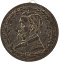 Political:Tokens & Medals, Ulysses S. Grant: Large Brass Shell Badge....