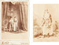 Photography:Cabinet Photos, Circus Performers: 19th Century Photographs.... (Total: 2 Items)
