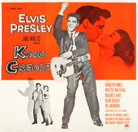 "King Creole (Paramount, 1958). Six Sheet (81"" X 81"")"